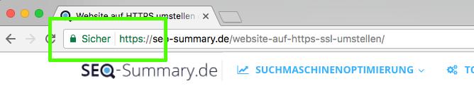 Diese Website ist sicher