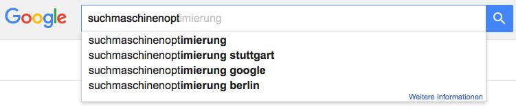 SEO Tool: Google Suggest